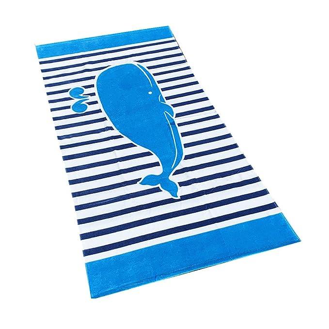 Niños Toalla de Baño Albornoz de Playa - Niñas Niños Poncho 100% Cotton Manta Animal Natación Toalla Bebé Nadando Surf Deporte Bañera Fiesta Cobija: ...