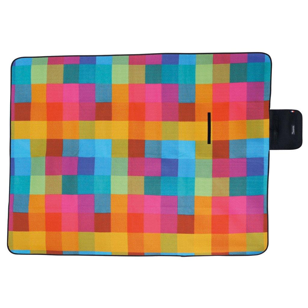 Time Concept Vacances Moisture-Resistant Picnic Mat - Compact, Lightweight - Multicolor