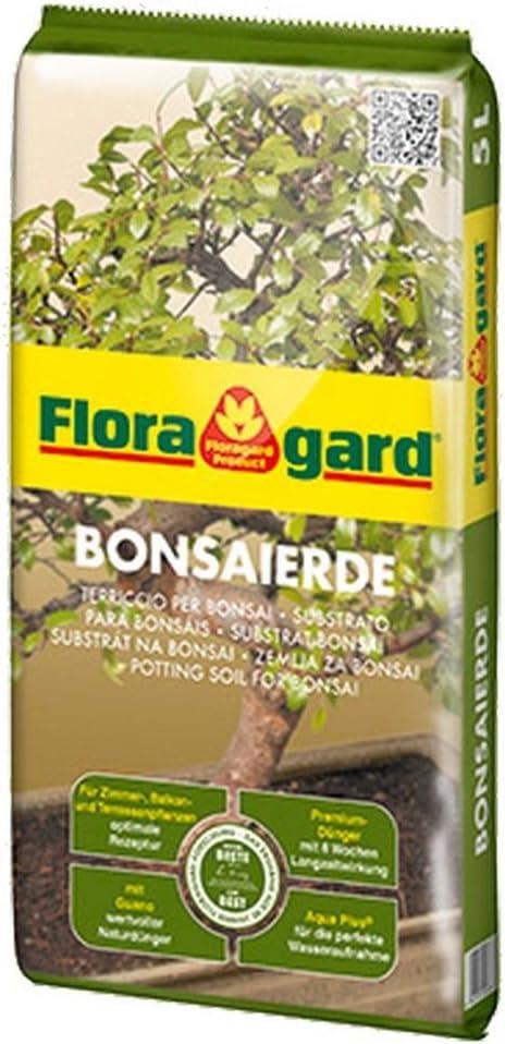 FLORAGARD Suelo para Bonsai Garden y Jardín 5 Lt.
