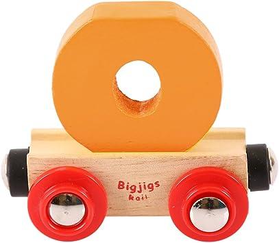 Blu Scuro Bigjigs Rail Rail Lettera I