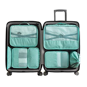 Amazon.com: Leoattend Home - Juego de 7 bolsas de viaje ...