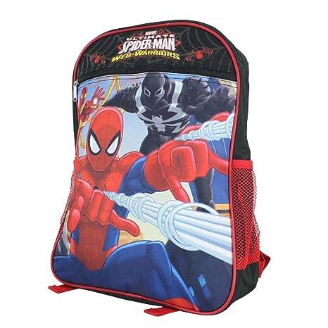 Disney Nickelodeon Marvel Mochila para niños de 15 pulgadas BP-5438 SPIDERMAN BLUE