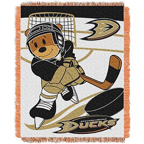 - The Northwest Company Anaheim Ducks Score Baby Woven Jacquard Blanket