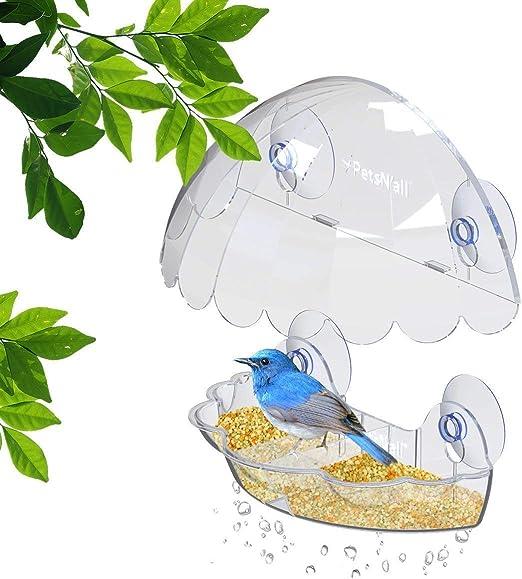PetsAll Mirador y comedor de aves en el jardín. Hermosa ...