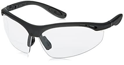 50739c0884f2 Image Unavailable. Image not available for. Color  Radians CH1-115 Cheaters  Nylon Frame Reading Safety Glasses with Clear 1.5 Lens