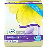 TENA Overnight Underwear, X-Large, 12 Count