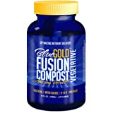 Blue Gold Compost Fusion Liquid NPK Micronutrient & Mineral Natural Fertilizer Increase Root Growth & Harvest without Chemicals Reduce Pests & Diseases with Organic Plant Food