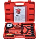Prokomon 17 pc Diesel Engine Cylinder Compression Tester Tool Kit Set Automotive Compressor