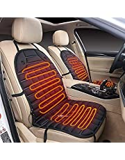 Car Heated Seat Pad - STYLINGCAR Electric Blanket Ngcar 12 V Car Seat Cushion Car Heated Seat Cushion Hot Cover Warmer Winter