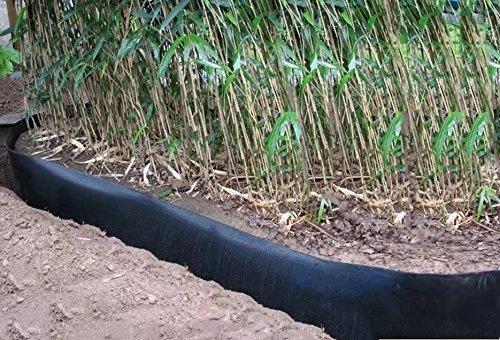 Mr. Garden 60mil Bamboo Root Barrier Water Barrier Plastic Sheet Garden  Landscape Edging Sheet