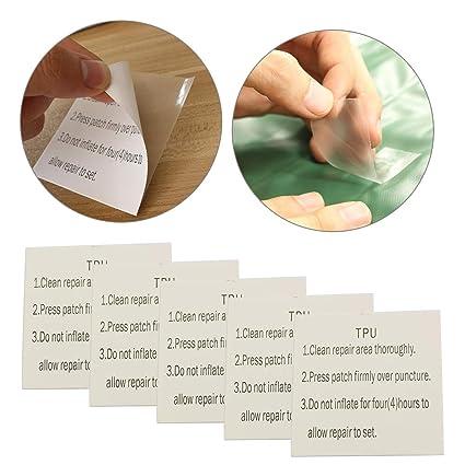 4 stücke Wasserdichte Nylon Reparatur Kit Selbstklebende Patches für