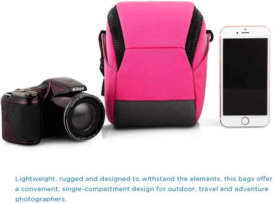 Sony Cyber Shot HX350 HX400 Nikon COOLPIX B700 Fujifilm X-T20 CAISON Kameratasche Kamera Etui Kompakt Camera Case Tasche f/ür Canon PowerShot SX70 EOS M50 M5 M6 Panasonic Lumix FZ82 FZ330