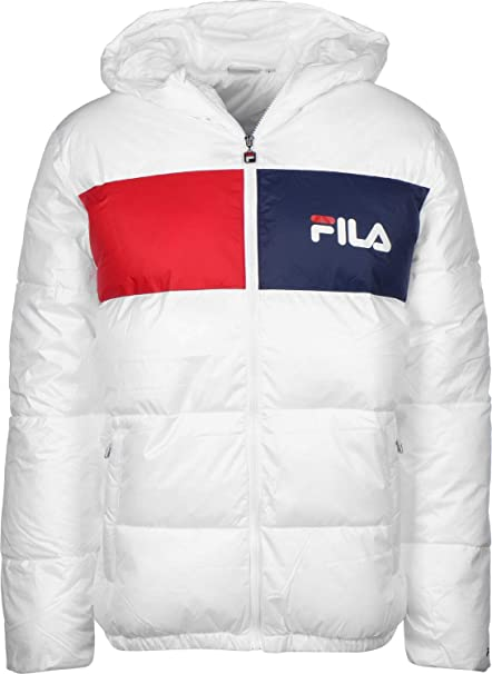 Fila Floyd Chaqueta de Invierno Bright White: Amazon.es ...