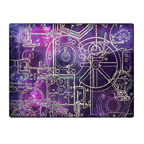 Steampunk Schematics Colorpop - Glass Cutting Board
