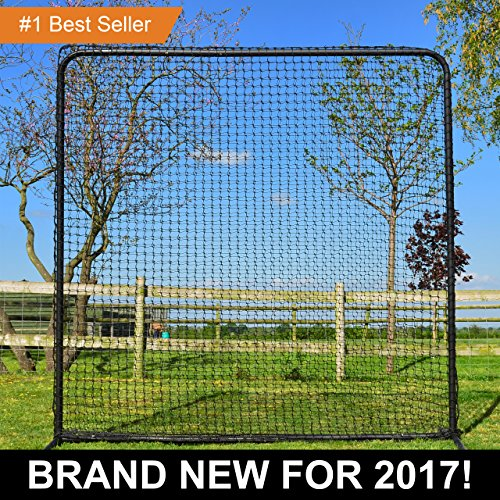 FORTRESS Baseball Square Protector Screen - Softball Baseman Net by Fortress