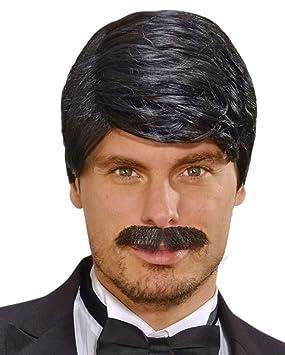 Horror-Shop Playboy Perruque Homme avec Moustache