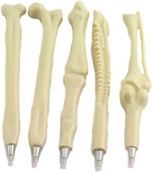 Skeleton Bone,Syringe Novelty Pen Writing Supplies Shape Ballpoint Doctor Nurse