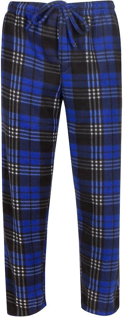 Premium Lounge Pants for Men - Luxurious Coral Fleece - Adjustable Size