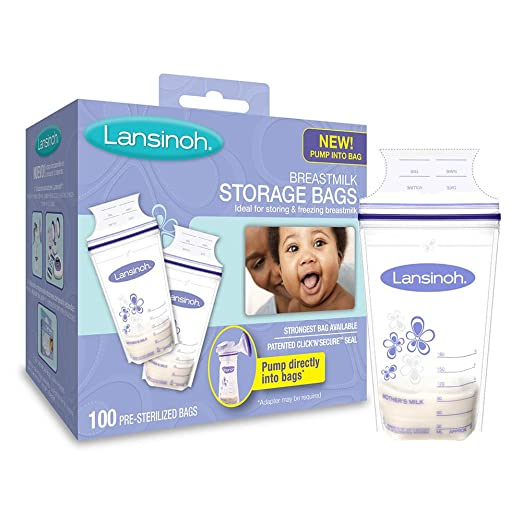 Lansinoh Breastmilk Storage Bags – 100 Count Review