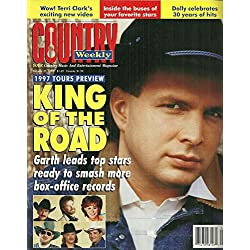 1997 TOURS PREVIEW: Garth Brooks l Tracy Byrd & Tracy Lawrence l Hank Williams, Jr. l Brooks & Dunn l Reba McEntire - January 21, 1997 Country Weekly
