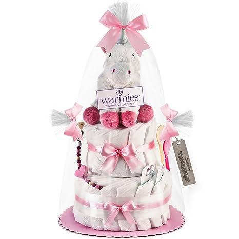 timfanie® pañales para tartas, Warmies® Unicornio (de 2 pisos zart de color. Pasa ...