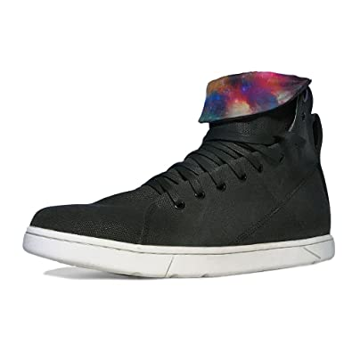 23ed88f6a8a5 Heyday Footwear Men s Max Black Fabric High Top Bodybuilding Sneaker - Size  13 D(M