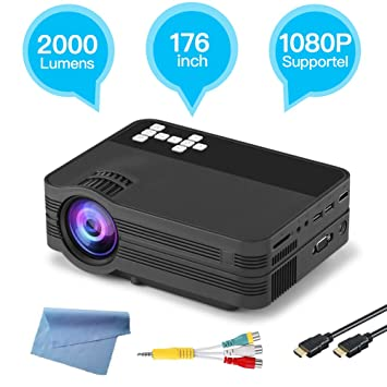 YTBLF Proyector Android 6.0 HD con Pantalla Full HD 1080P de 170 ...