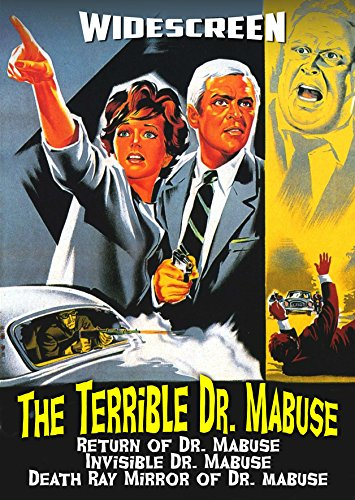 The Terrible Dr. Mabuse Triple Feature DVD Collection ()