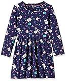 Mothercare Girls' Dress (JK003-1-blue-6-7 Y)