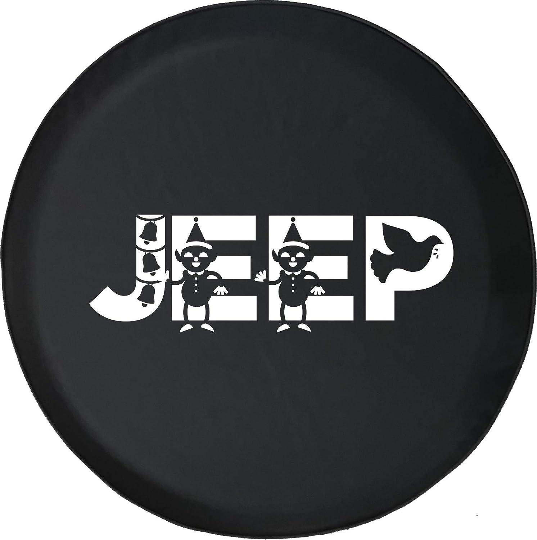 Christmas Jeep Silhouette.Amazon Com 556 Gear Christmas Elf S Jingle Bells Dove