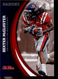 2016 Panini Collegiate Team Set Card #11 Dexter McCluster Ole Miss University