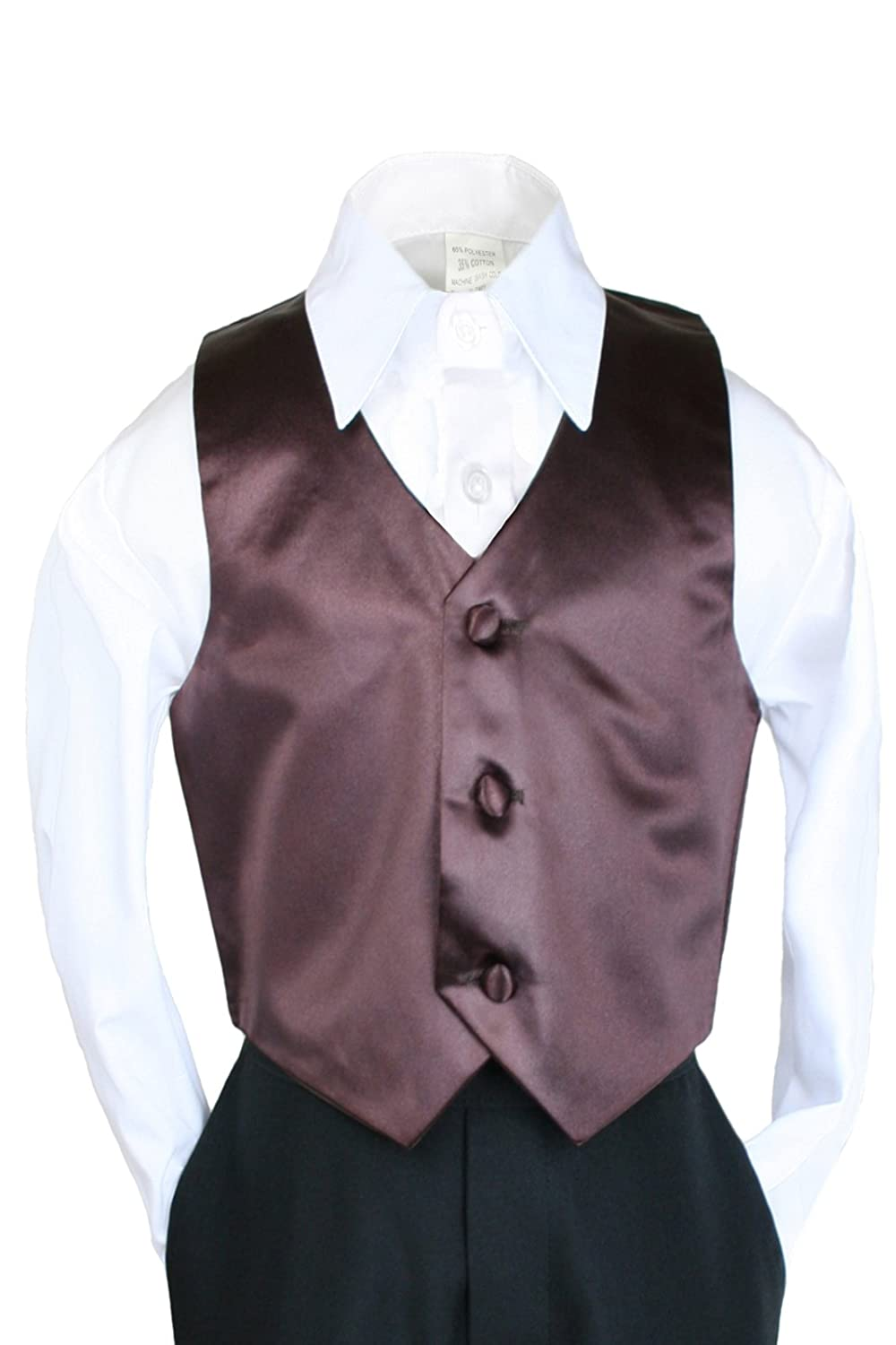 Unotux Boys Satin Vest from Baby to Teen