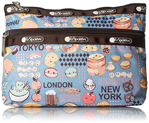 City Hardware Bag (LeSportsac Classic Cosmetic Clutch, City Snacks, One Size)
