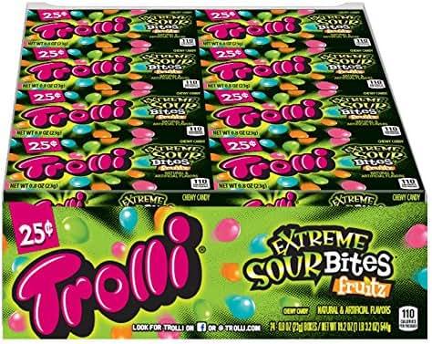 Gummy Candies: Trolli Extreme Sour Bites