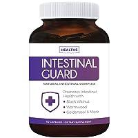 Intestinal Guard (Non-GMO) Intestinal Support for Humans - Wormwood & Black Walnut...