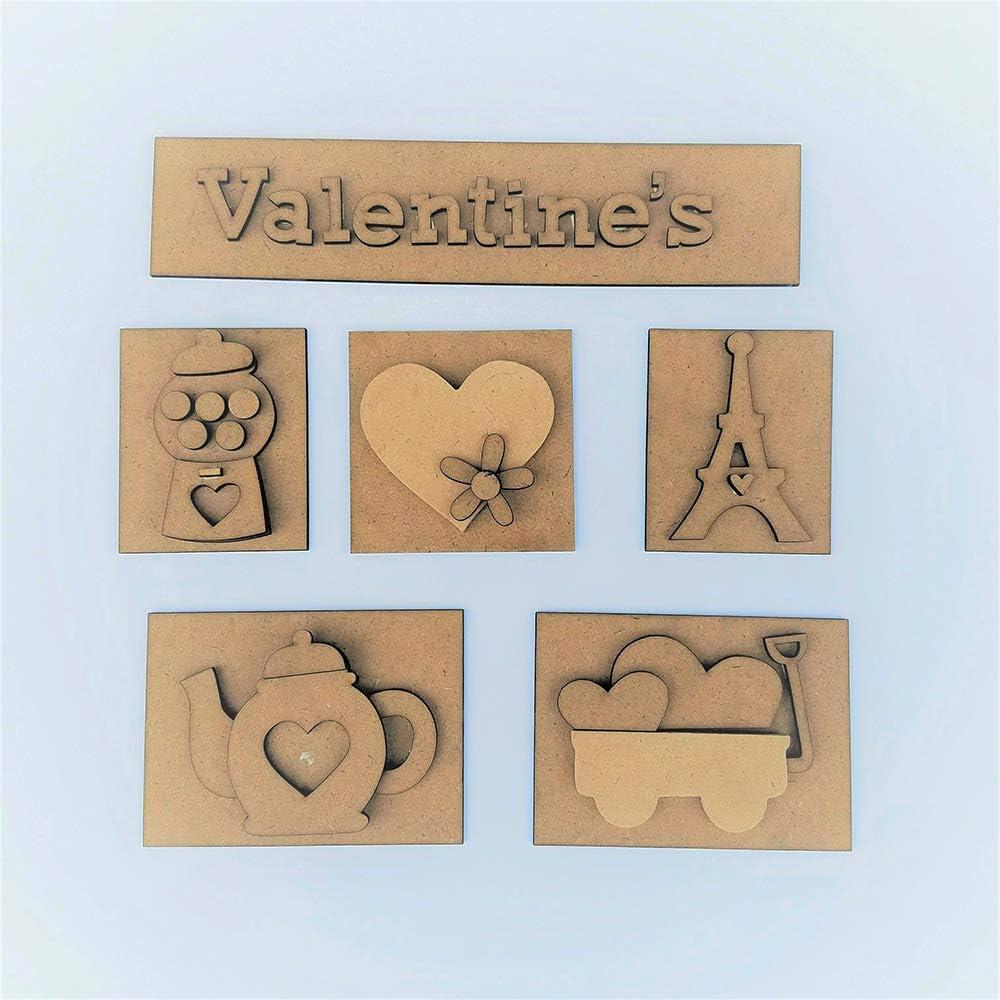 Foundations Décor, Shadow Box Kit - Valentine's