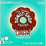 Keurig Hot The Original Donut Shop Coffee Dark Roast Coffee, 0.39 oz, 18 count