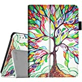 Fintie Folio Case for Fire HD 7 Tablet (2014 Oct Release) - Slim Fit Leather Standing Protective Cover with Auto Sleep/Wake Feature (Will Only Fit Fire HD 7 4th Generation 2014 Model), Love Tree