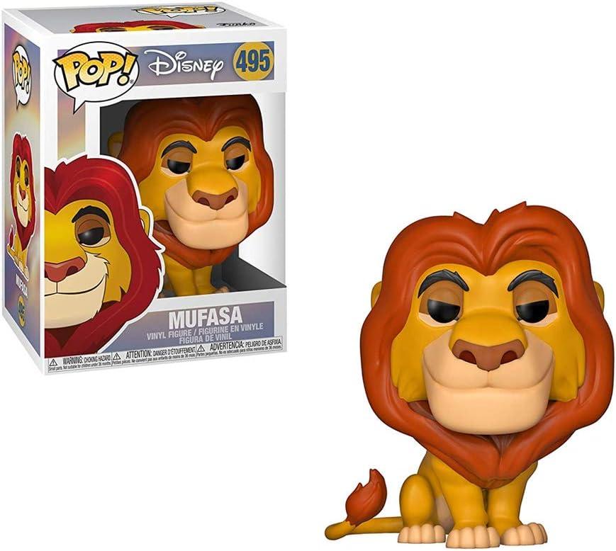 Funko 36391 Pop Vinyl: Lion King: Mufasa, Multi Disney Figura ...