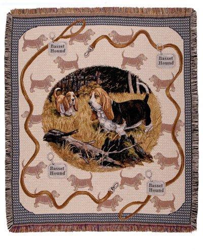 Basset Hound Tapestry - 4