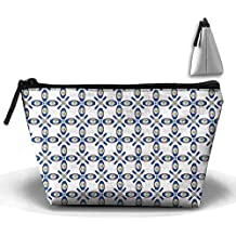 Belize Texture Flag Cosmetic Bag Makeup Bags Pouch Stationery Bag Pencil Base Learning Bools Handbag Organizer Bag