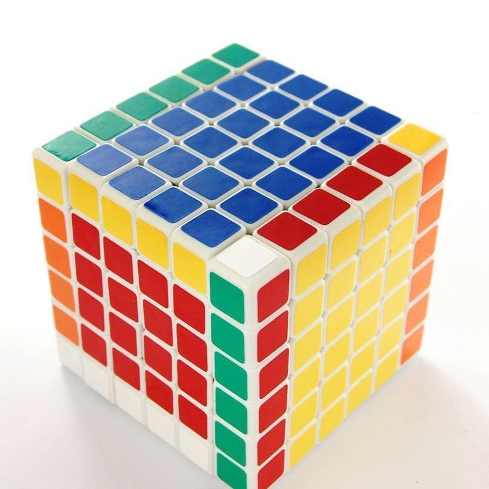 Coolzon 2x2x2 Cubo Magico Rompecabezas Speed Magic Cube Juego De Zz Puzzle Pvc Adhesivo 50mmnegro