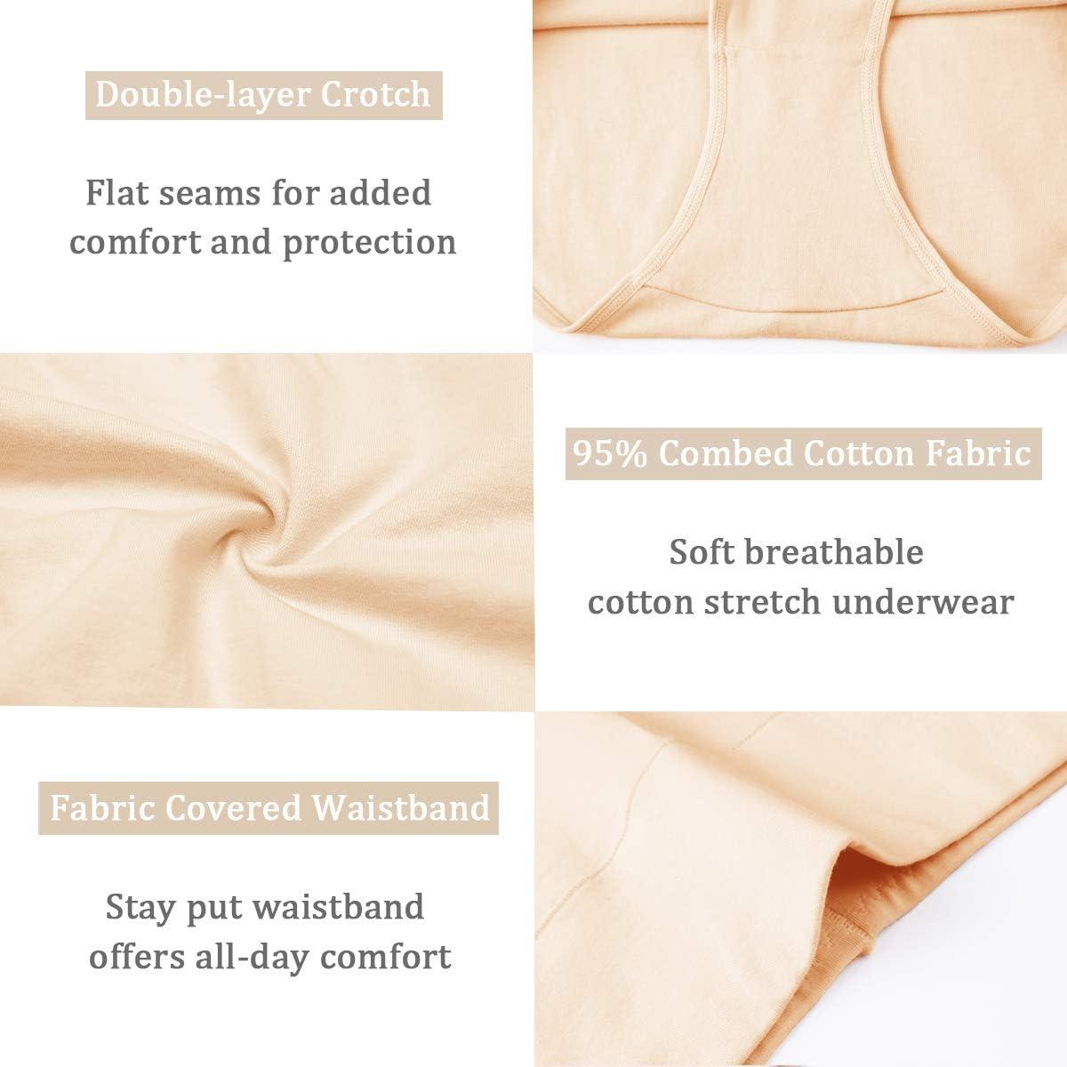 wirarpa Culottes Gainante Femmes Coton Taille Haute Slips