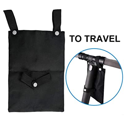 Stylishbuy Scooter Front Hanging Bag Bicycle Decoration Portable Large-Capacity Pouch for Electric Scooter: Home & Kitchen