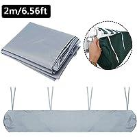 Cubierta para toldo impermeable, protección solar, a prueba de polvo, bolsa de almacenamiento con cuerda para exteriores…