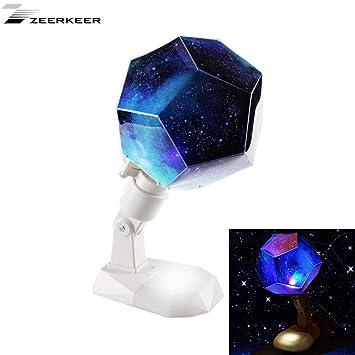 Zeerkeer Proyector Giratorio Star Sky Luz Nocturna, Sinfonía ...