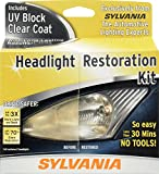 #4: SYLVANIA - Headlight Restoration Kit - 3 Easy Steps to Restore Sun Damaged Headlights With Exclusive UV Block Clear Coat, Light Output and Beam Pattern Restored, Long Lasting Protection