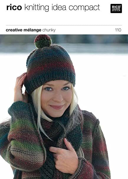 Sweater And Hat In Rico Design Creative Melange Chunky 110