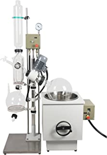 lab1st 20L Rotary Evaporator with Hand Lift Explosion Proof Digital Display, 0-120 rpm,0-180℃