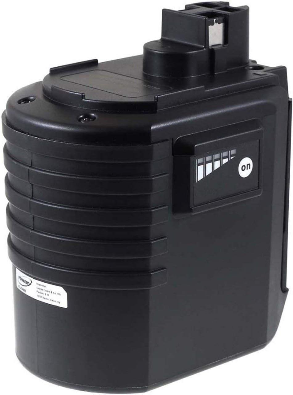 Batería para BTI Profiline Martillo perforadorBHE 24VRE 3000mAh NiMH Plana (versión moderna), 24V, NiMH